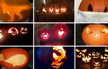 Smashing Pumpkins! MP Maria Eagle announces our pumpkin carving comp winners